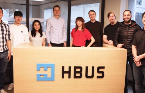 Photo of U.S.-based HBUS team in San Francisco courtesy of Huobi