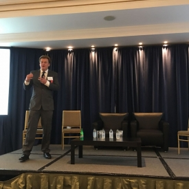 Overstock CEO Electrifies at Investment Bank Oppenheimer's Blockchain Event