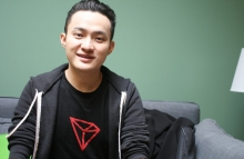 Justin Sun image by Brady Dale for CoinDesk