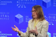 Hester Peirce photo by Nikhilesh De for CoinDesk