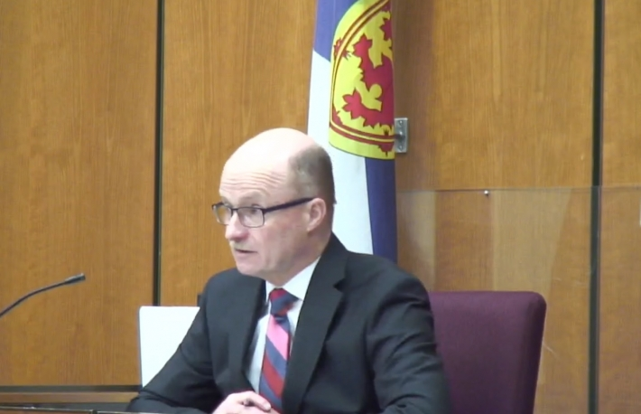 Judge Michael Wood image via Nova Scotia Supreme Court