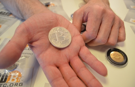 'Physical' bitcoins on sale at Bitcoin2014.