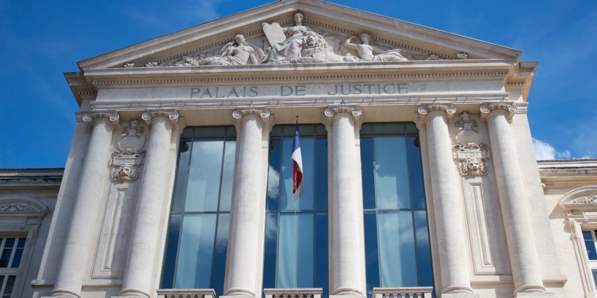 "<em>Image of the <a href=""https://www.shutterstock.com/image-photo/palais-de-justice-67440088"" target=""_blank"" rel=""noopener"">French court</a> via Shutterstock </em>"