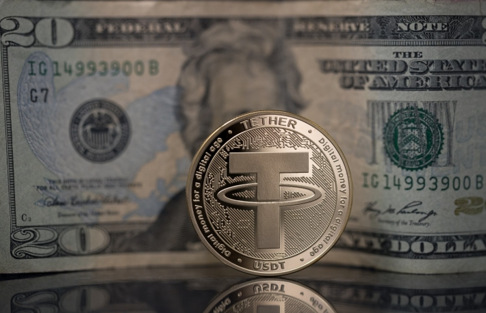 https://www.shutterstock.com/image-photo/tether-usdt-cryptocurrency-physical-coin-placed-1288460224