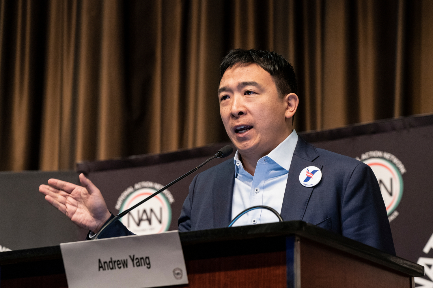 Presidential Candidate Andrew Yang Calls for 'Clear Guidelines' on Crypto