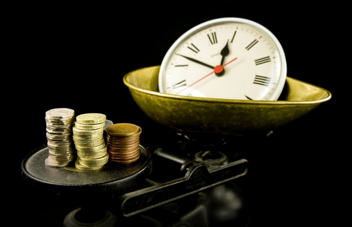 https://www.shutterstock.com/image-photo/time-money-clock-on-scales-92273470