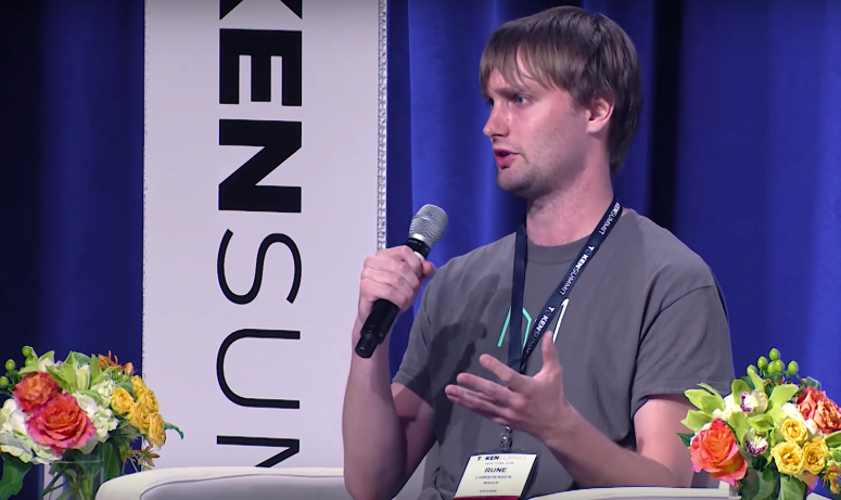 MakerDAO founder Rune Christensen image via CoinDesk archives