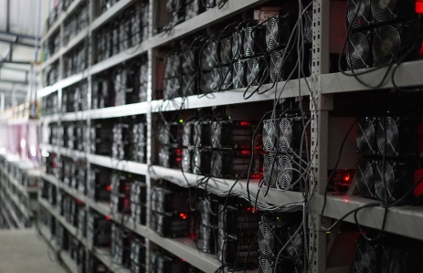 Bitcoin miners image via CoinDesk archives