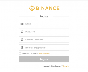 how to buy cryptocurrency using binance