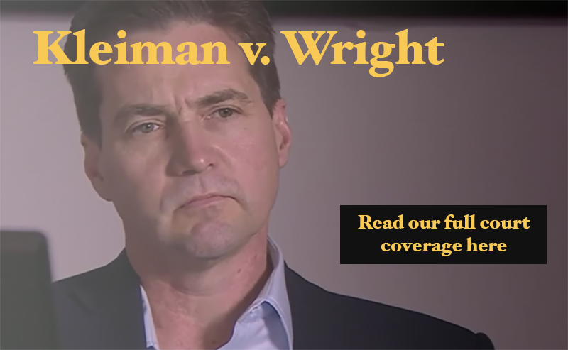 Self-Proclaimed Bitcoin Creator Craig Wright to Take the Stand in