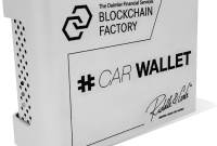 photo of hardware wallet for cars