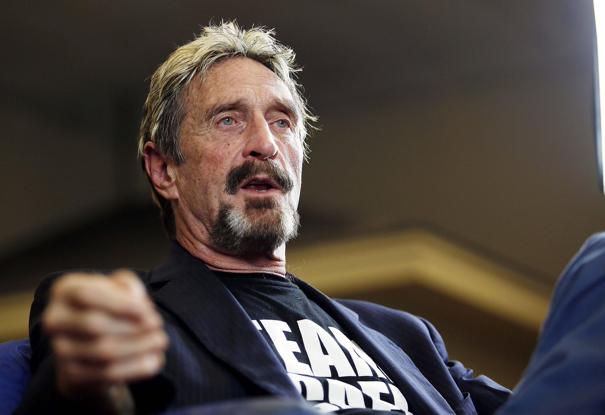 John McAfee Offers to Build Cuba's First Cryptocurrency thumbnail