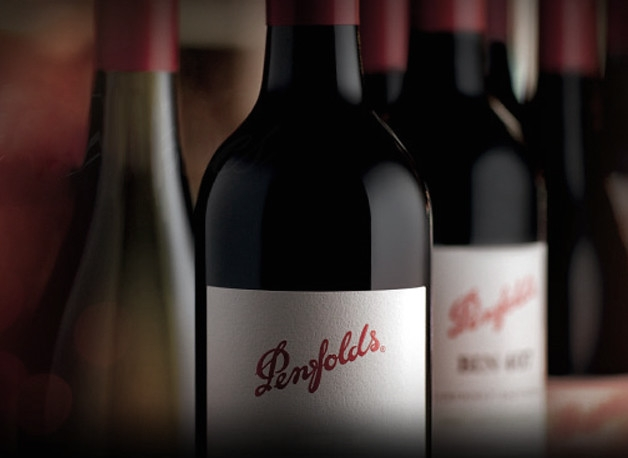 Penfolds wine bottle via Flickr