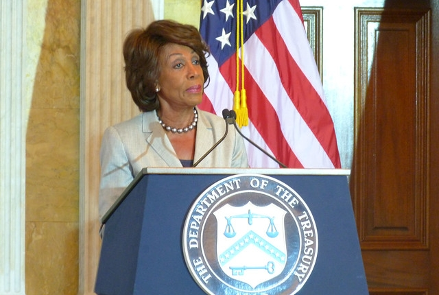 Congresswoman Maxine Waters (D-CA) by AfDB Group/Flickr