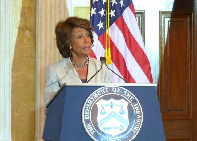 Congresswoman Maxine Waters (D-CA)