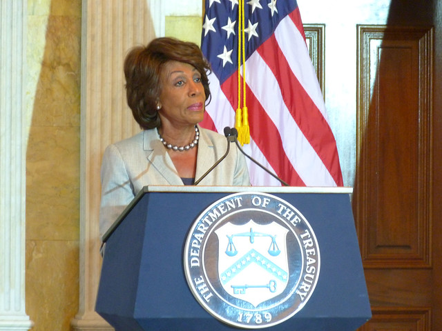 Rep. Waters Says Congress Will Continue Review of Facebook's Libra - CryptoUnify Advanced Cryptocurrencies Platform