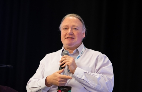 Hyperledger Executive Director Brian Behlendorf image via CoinDesk archives