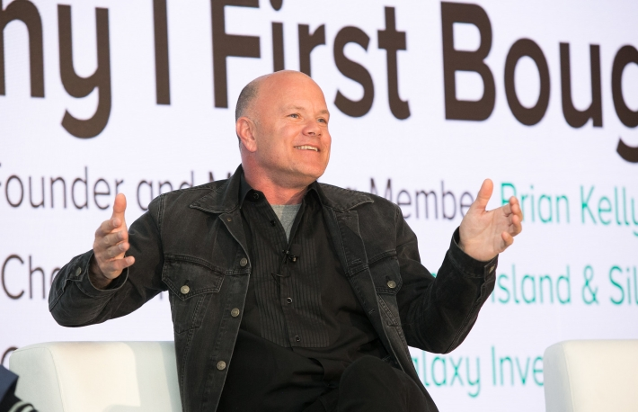 Michael Novogratz image via CoinDesk archives