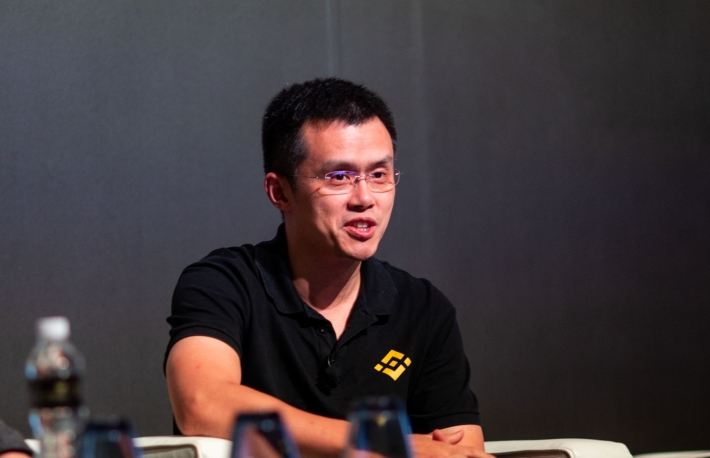 Changpeng Zhao via CoinDesk archives