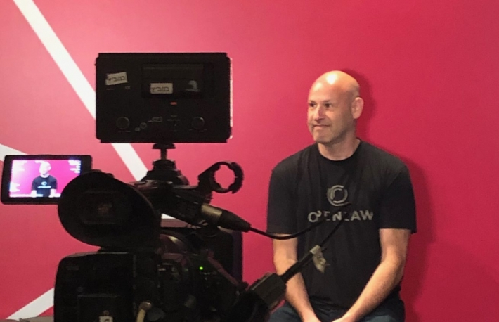 Joe Lubin speaks at Ethereal Tel Aviv, photo by Leigh Cuen for CoinDesk