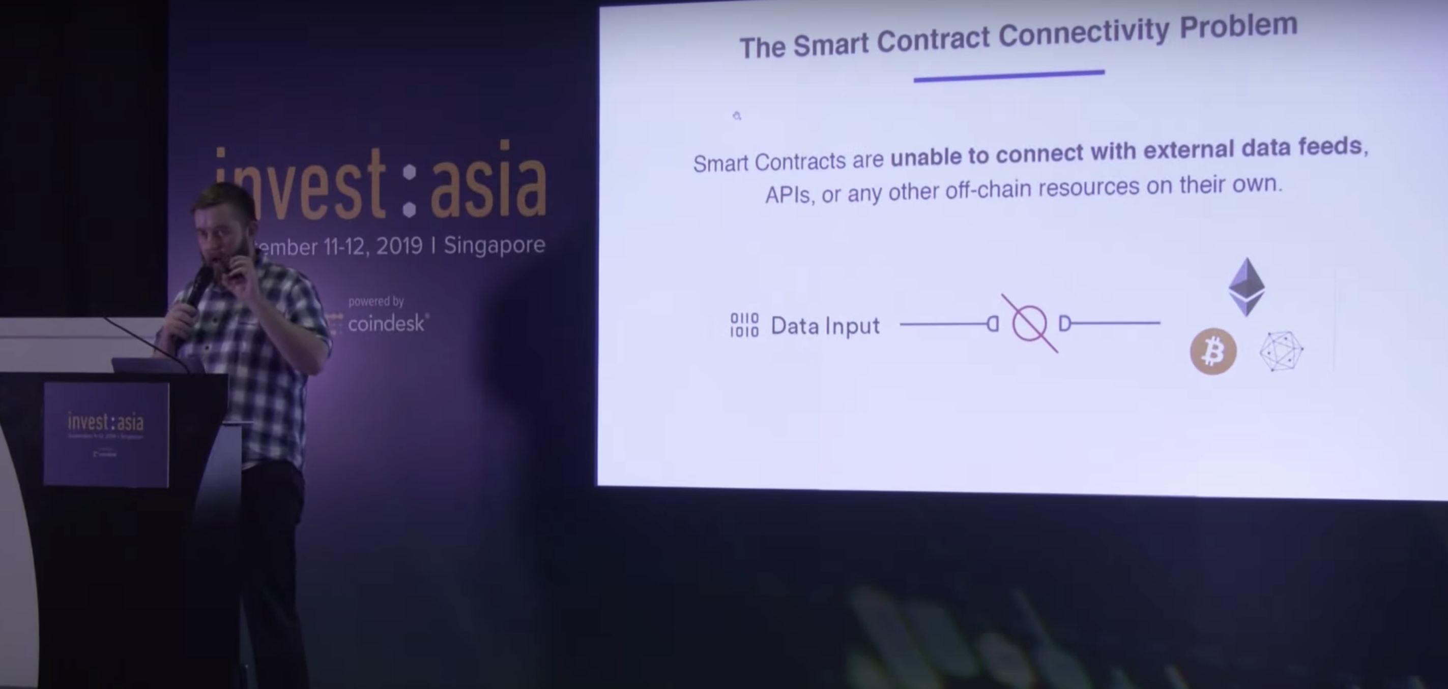 WATCH: Chainlink CEO Talks Data Oracles