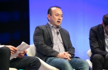 Genesis CEO Michael Moro image via CoinDesk archives