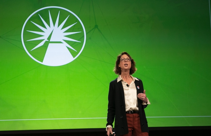 Fidelity CEO Abigail Johnson at Consenys 2017