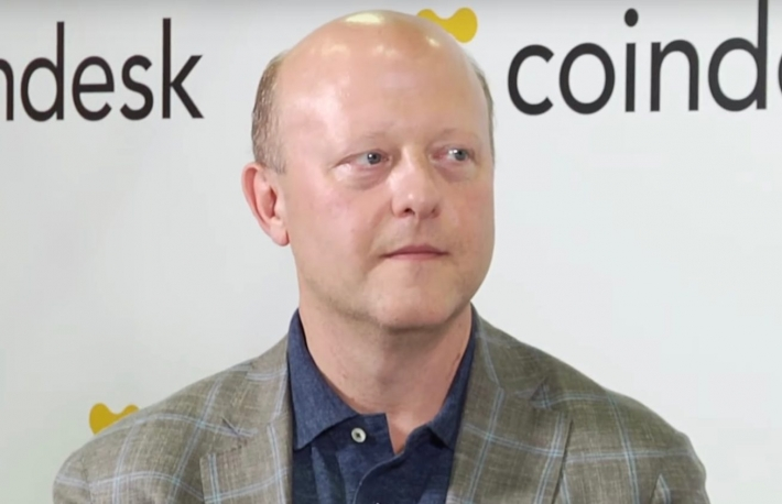 Jeremy Allaire appears on CoinDesk Live at Invest: Asia 2019, screenshot via YouTube