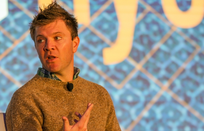 Sam McIngvale at Invest: NYC 2019 via CoinDesk archives
