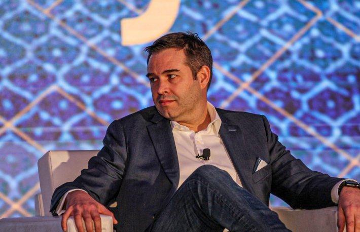 Rayne Steinberg at Invest: NYC 2019 via CoinDesk archives
