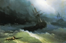ayvazovskiy-_ships_at_the_raging_sea_1866