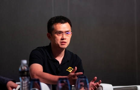 Binance CEO Changpeng Zhao image via CoinDesk archives