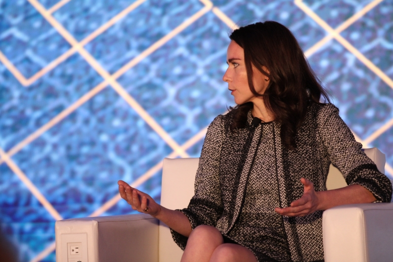 Catherine Coley at Invest: NYC 2019 via CoinDesk archives