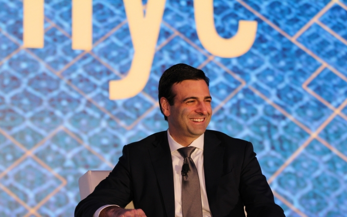 Heath Tarbert at Invest: NYC 2019 via CoinDesk archives