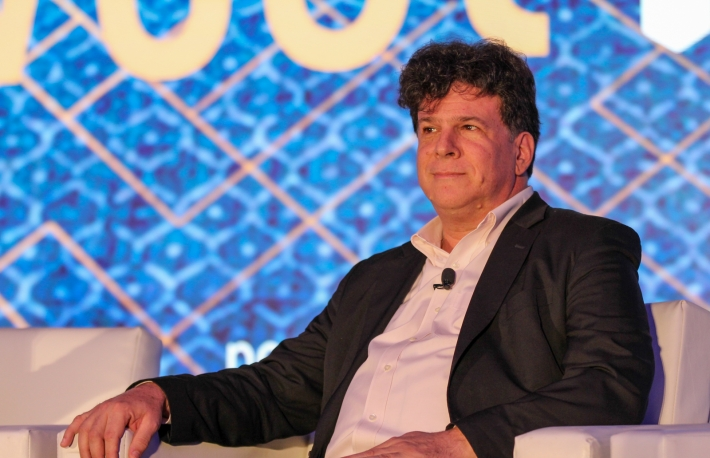 Eric Weinstein at Invest:NY 2019. Image via CoinDesk.