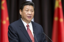 Chinese President Xi Jinping addressing students of MGIMO, on March 23, 2013 in Moscow (via Shutterstock).