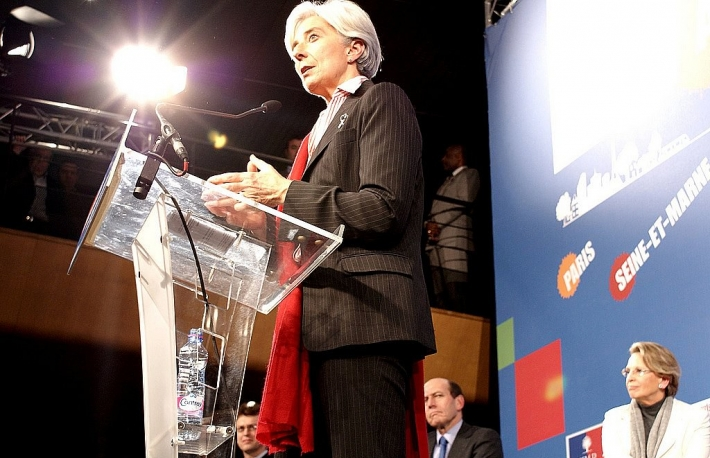 Christine Lagarde image via CoinDesk archives