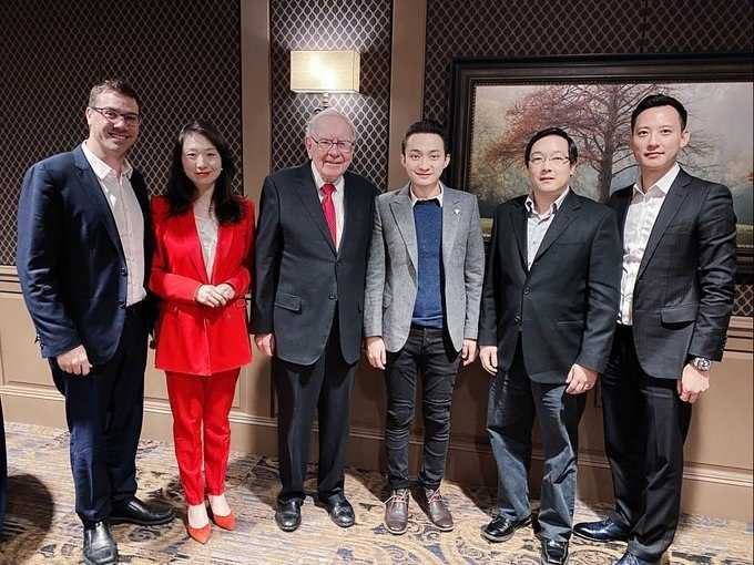 Tron's Justin Sun (Finally) Gets $4.5M Dinner With Warren Buffett ...