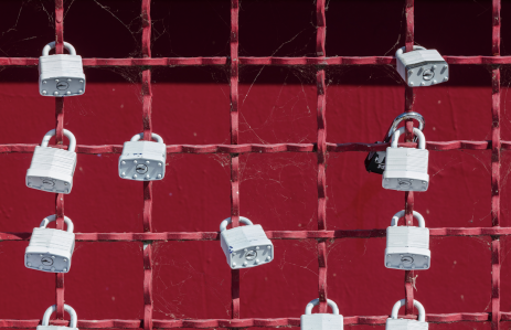 Photo by Jon Moore on Unsplash, fence, security, locks, keys