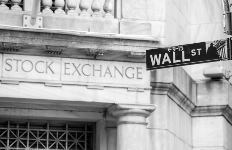 The Wall Street image via Shutterstock