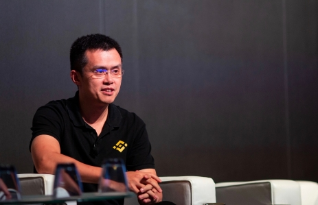 "DOUBLING DOWN: Binance CEO Changpeng ""CZ"" Zhao is pinning his hopes on a mass audience of individual investors. (Credit: CoinDesk archives)"