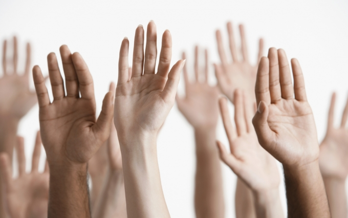 https://www.shutterstock.com/image-photo/closeup-multiethnic-men-women-raising-hands-144918361