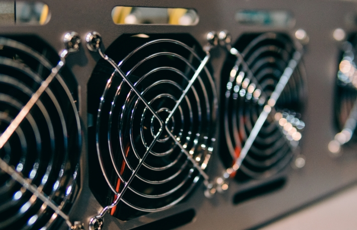"BIG PICTURE: ""The world is grappling right now with different supply chain issues like getting ventilators and masks around the world as opposed to bitcoin mining,"" says Hut 8's CEO. (Credit: Shutterstock)"