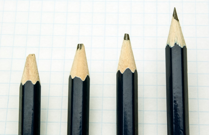 https://www.shutterstock.com/image-photo/one-blue-pencil-three-blunt-on-245032975