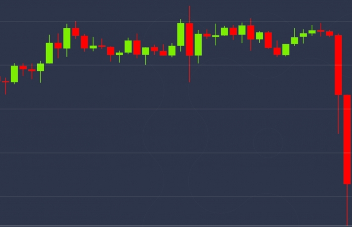 Price Drops 7% in an Hour After Bitcoin Sees a Ghost