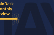 CoinDesk Monthly Review, May 2020, cover slide