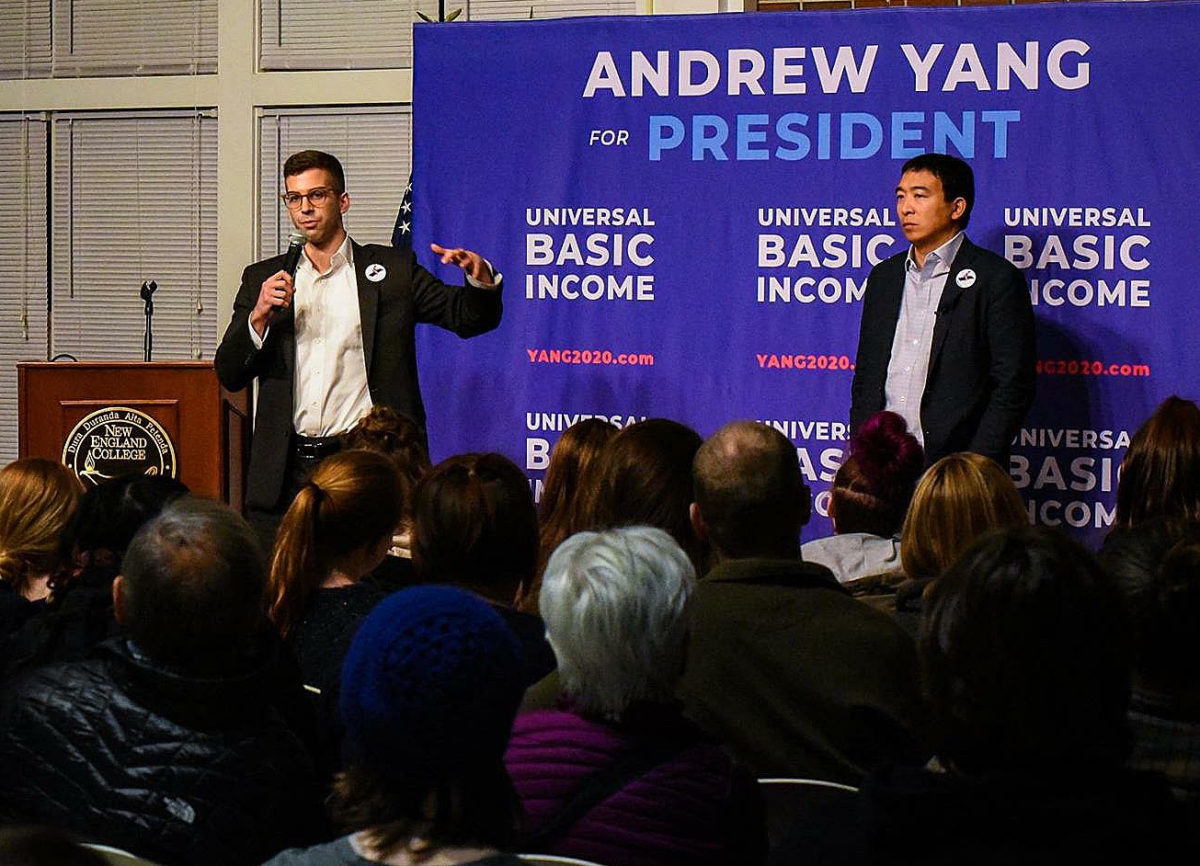 Ex-Yang Aide Is Running for Congress with Bitcoin and UBI on His Mind - CoinDesk