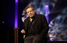 John Perry Barlow on stage