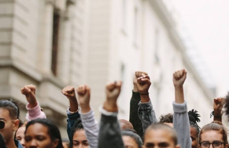 https://www.shutterstock.com/image-photo/arms-raised-protest-group-protestors-fists-1736459849