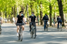 https://www.shutterstock.com/image-photo/vienna-austriaapril-142020-two-cyclists-protective-1743956936